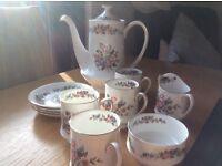Paragon fine bone china tea/coffee set
