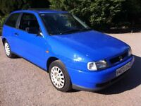 1999 VOLKSWAGEN GROUP SEAT IBIZA 1.4 (BASICALY A POLO) **LOW MILEAGE**EXCELLENT CONDITION**