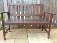 4' Wooden Garden Bench