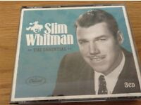 Slim Whitman The Essential 3 CD Box Set