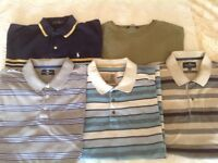 Marks and Spencer bundle of short and long sleeved shirts and T shirts XL