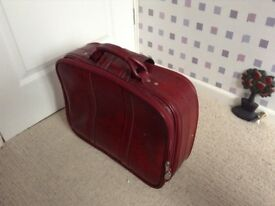 Small traditional suitcase