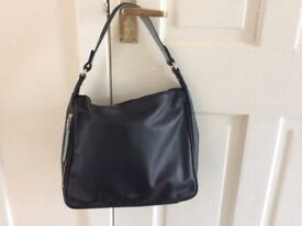 Black Leather Radley Handbag