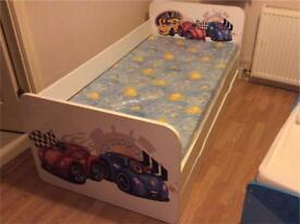 'Cars' Child's Bed