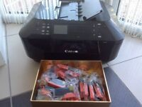 Printer Copier Scanner (Cannon) PLUS EXTRA INKS