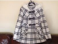 Jane Norman winter coat, as new condition- only worn once. Cost £90 looking for £25.