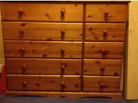 WANTED - SOMEONE TO SPRAY PINE CHEST DRAWERS WHITE