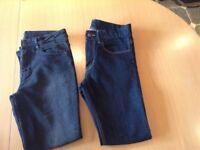 Boys H & M skinny jeans 10-11 years