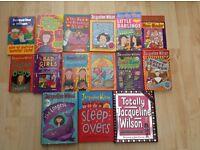 Jaqueline Wilson 15 books