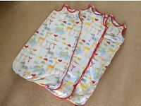 Mothercare sleeping bags 1 tog 6-18 months and 18-36 months