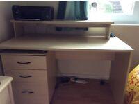 Wood effect desk for sale
