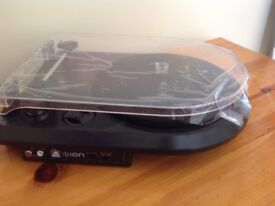 Ion Turntable, turn Vinyl Recods to MP3