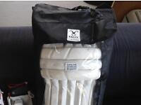 CRICKET HOLD-ALL with PADS, GLOVES etc.
