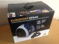Behringer EPA40 Europort Hand-held PA System (brand NEW, complete boxed, unused)