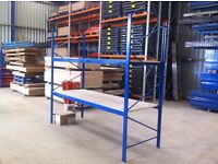 INDUSTRIAL COMMERCIAL WAREHOUSE LONGSPAN SHELVING RACKING BAY UNIT