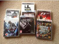 PS3 games x7