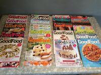 Good Food Magazine, 2 complete sets, 24 books