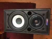Mission 700 speakers used in very good condition