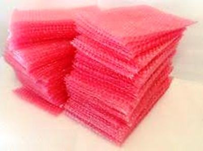 50 Pink Antistatic Bubble Bags 380mm x 430mm 15 x 17 inches Bubble Wrap Pouch