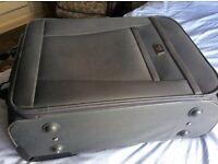 Medium Antler Grey Suitcase.