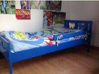 Ikea Blue Kritter Children's Bed