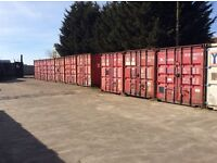 20ftx8ft storage containers £20pw