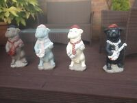 Large Bulldog Garden Ornaments