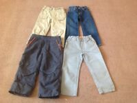 Boys trousers age 3-4 Gap and H & M
