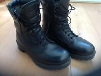 Genuine British Army High leg Goretex Combat Boots