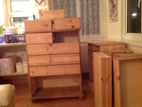 Pine Chest of Drawers x 2