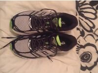 Size 9 1/2 running shoes. Used once. BARGAIN!