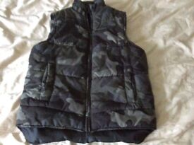 Boys age 7-8 camouflage gilet collect Sprowston or meet at Riverside