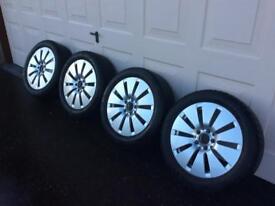 Mercedes C class sport wheels & winter tyres