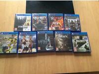 PlayStation4 games