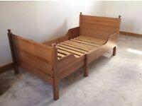Kids extendable bed (Ikea Sundvik)