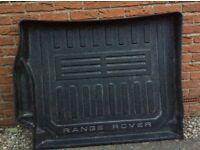 Range Rover boot floor liner
