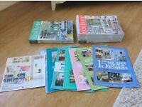 Ideal Home Magazines - 1 Years Worth