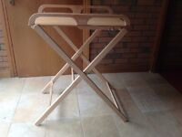 Combelle wooden folding changing table
