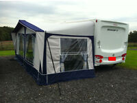 KENSINGTON CARAVAN AWNING - SIZE 1000 - includes full size breathable ground sheet.