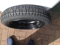 Spare Wheel and Tyre Dunlop Space Miser
