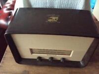Absolutely Fabulous Retro Timepiece Bakelite Radio