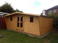 16x10 summer house/shed ,