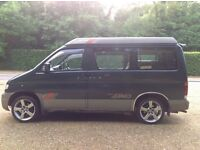 Mazda Bondo Friendee Auto Free Top with tow bar and kitchen unit and 6 or 7 seats