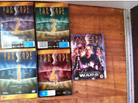 Farscape: The Complete Collection - Season 1 -2-3-4 (Plus The Peacekeeper Wars collection. )
