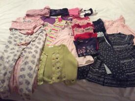 Girls clothes bundle - aged 12/18 months