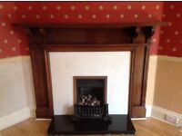 Beautiful solid wood fire surround available immediately