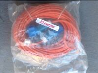 2xCaravan 25m hook up leads. Other accessories for sale .