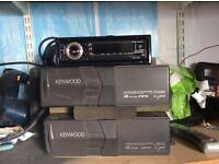 Kenwood car stereo and cd changer