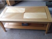 Matching set of TV cabinet, coffee table and two lamp tables