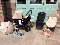 Bugaboo CAMELEON 3 complete travel system, lots accessories